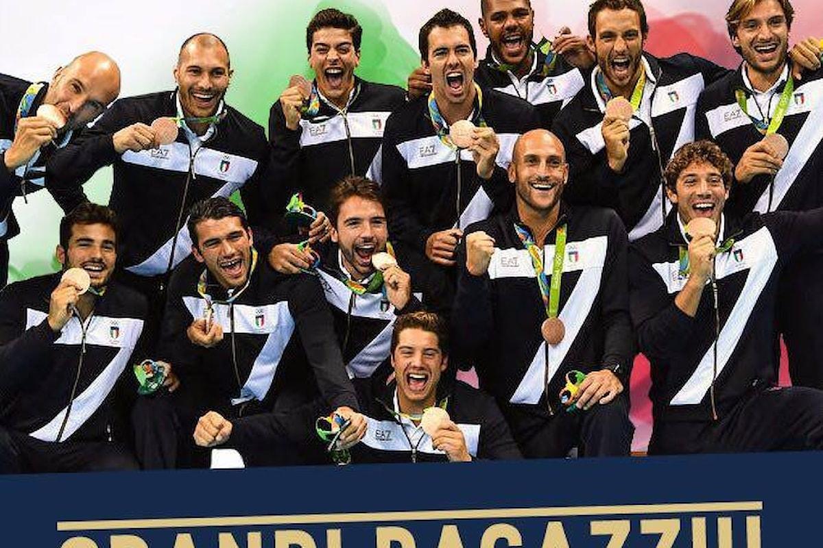 Il Settebello è di bronzo, battuto il Montenegro per 12-10