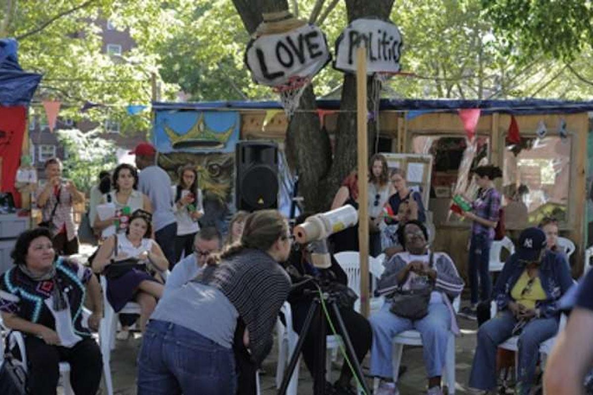 A Piazzale degli Uffizi, lunedì 3 luglio, Gramsci Monument, film che racconta un coinvolgente progetto di arte pubblica