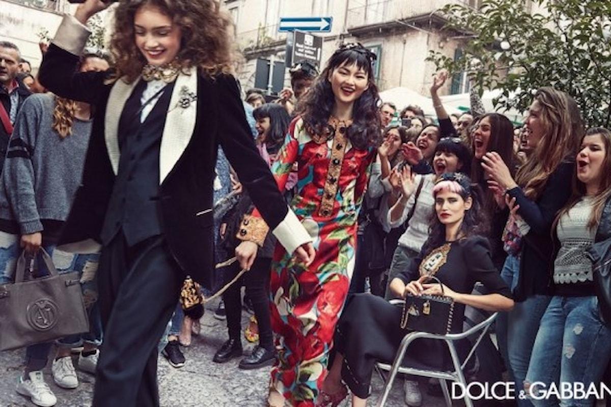 Napoli si reinventa con la festa di D&G