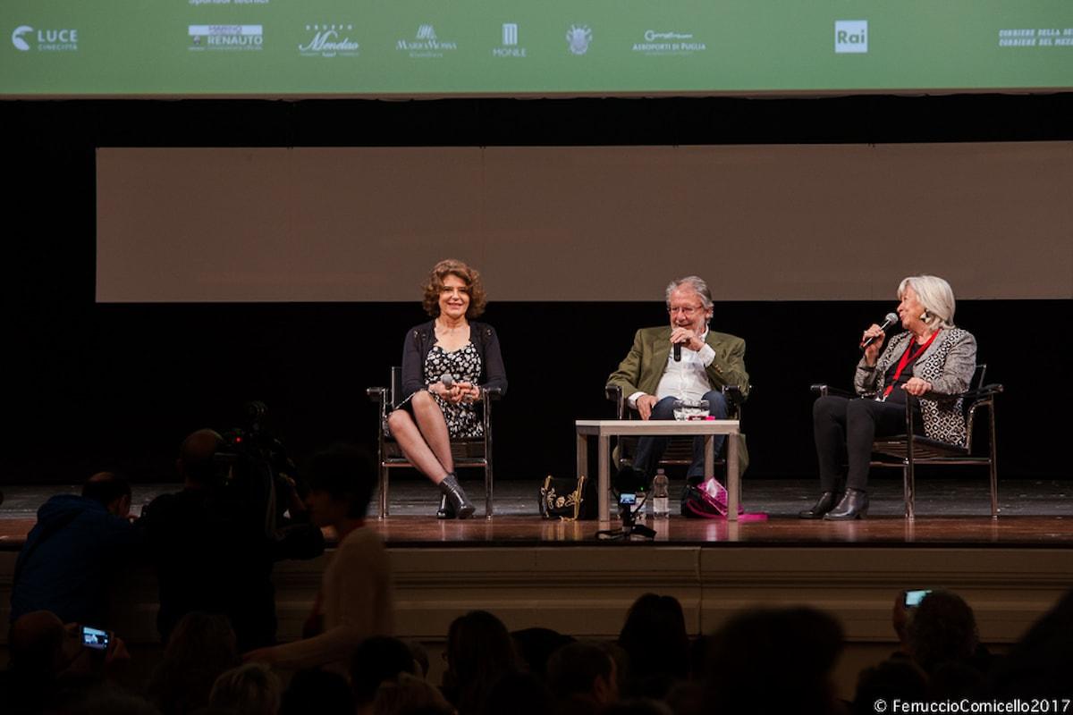 Il bellissimo incontro con Fanny Ardant e Margarethe von Trotta al Festival del Cinema di Bari