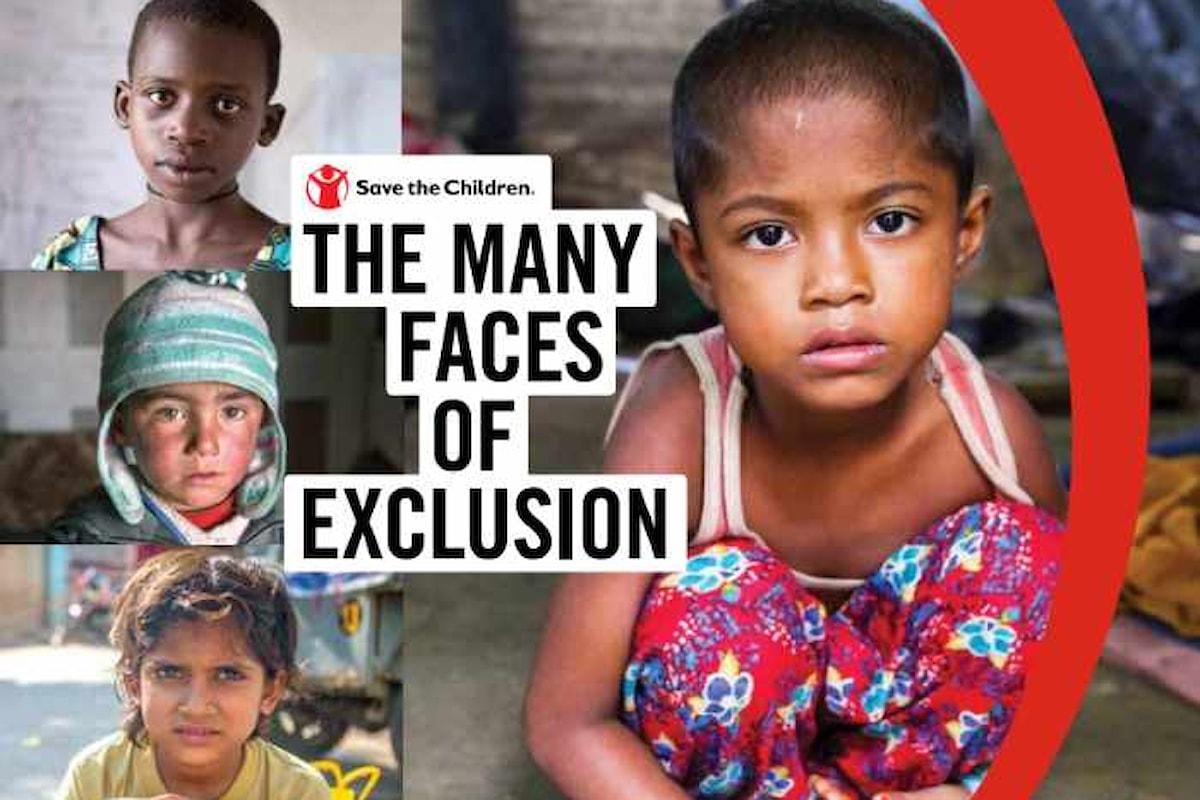 Le tante facce dell'esclusione, il rapporto di Save the Children in occasione della Giornata Internazionale del Bambino