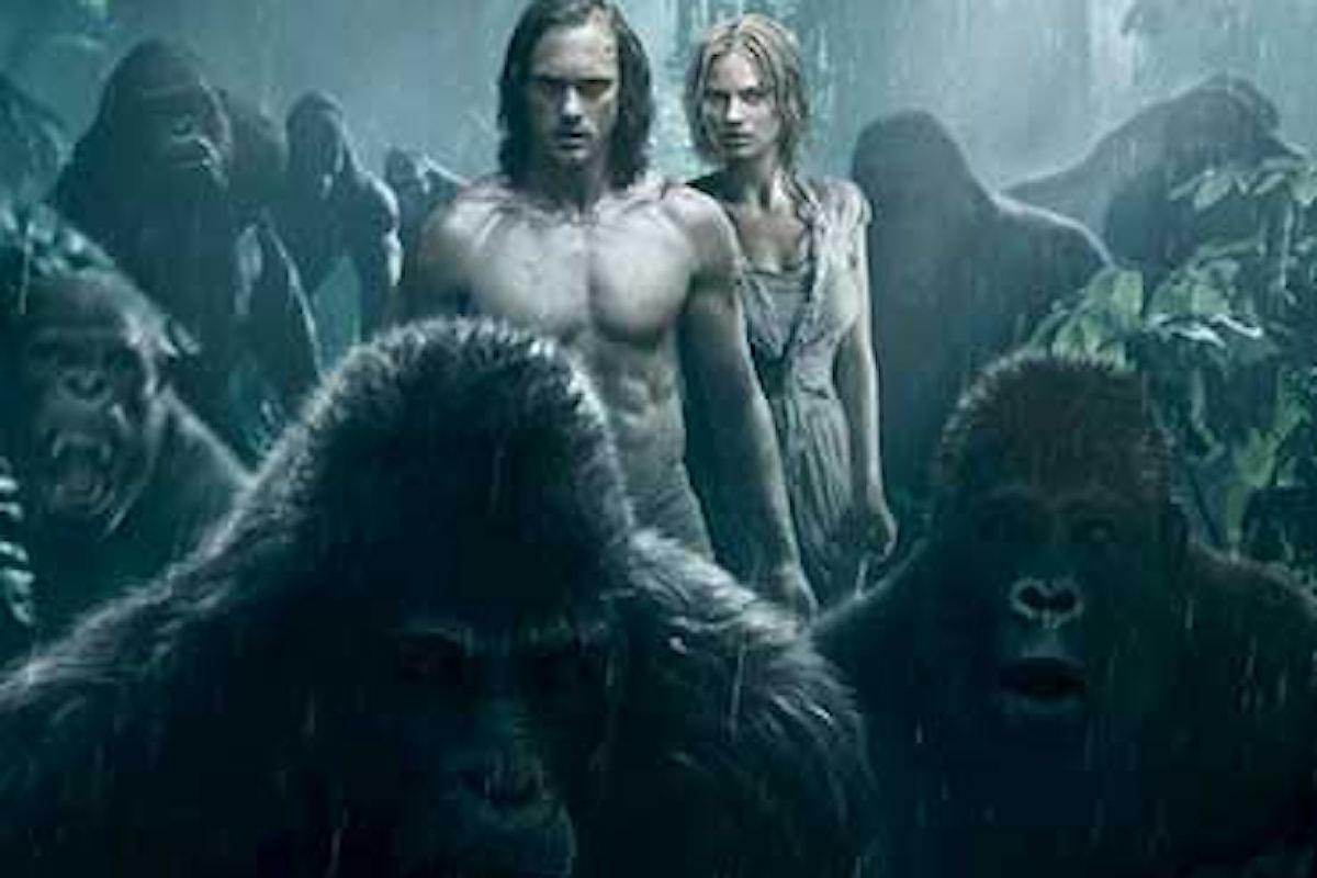 Al cinema arriva The Legend of Tarzan: il Re della giungla è tornato!
