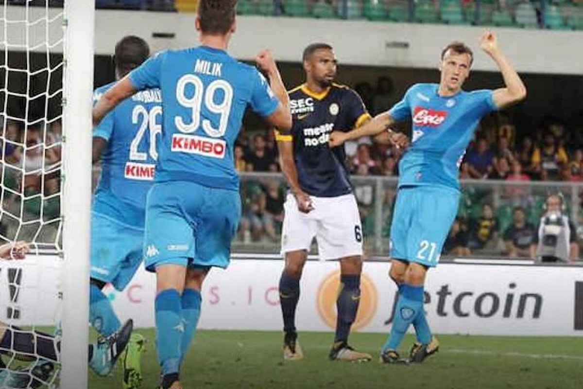 Inizia il campionato di serie A e Juve e Napoli sono subito protagoniste