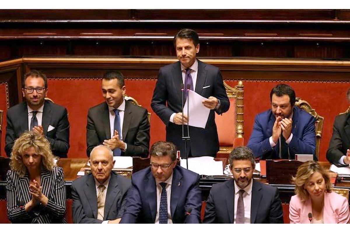 Ecco che cosa ha detto il premier Giuseppe Conte ai senatori nel suo primo discorso in Parlamento