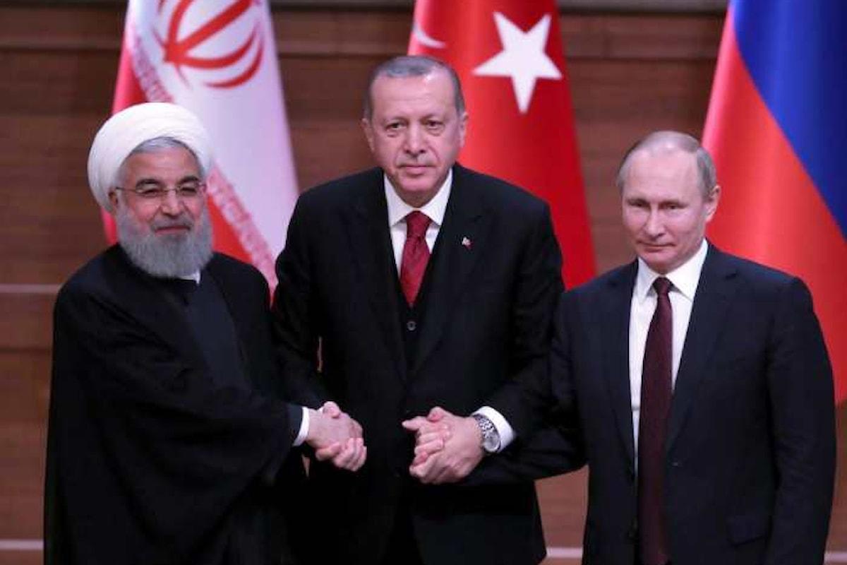 Turchia, Russia e Iran ad Ankara per discutere come spartirsi la Siria