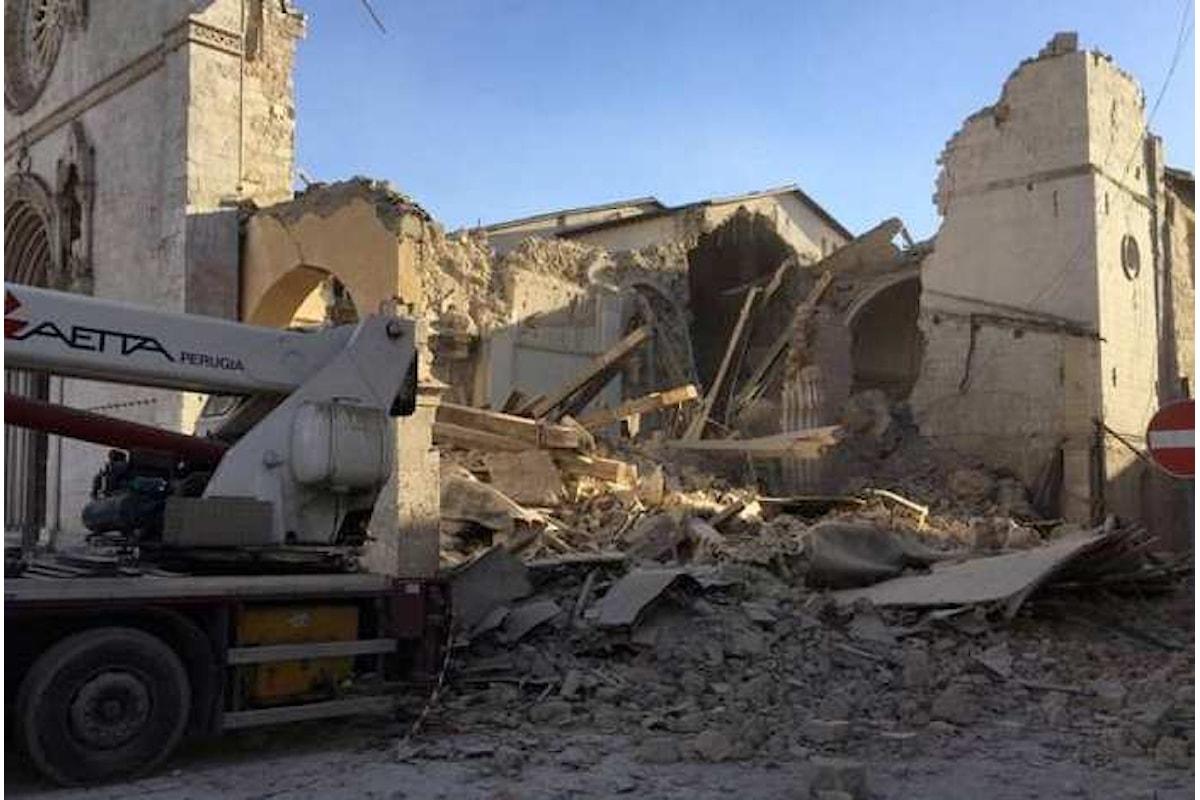Terremoto. Nuova scossa di magnitudo 6.5 tra Castelsantangelo Sul Nera, Norcia e Arquata del Tronto