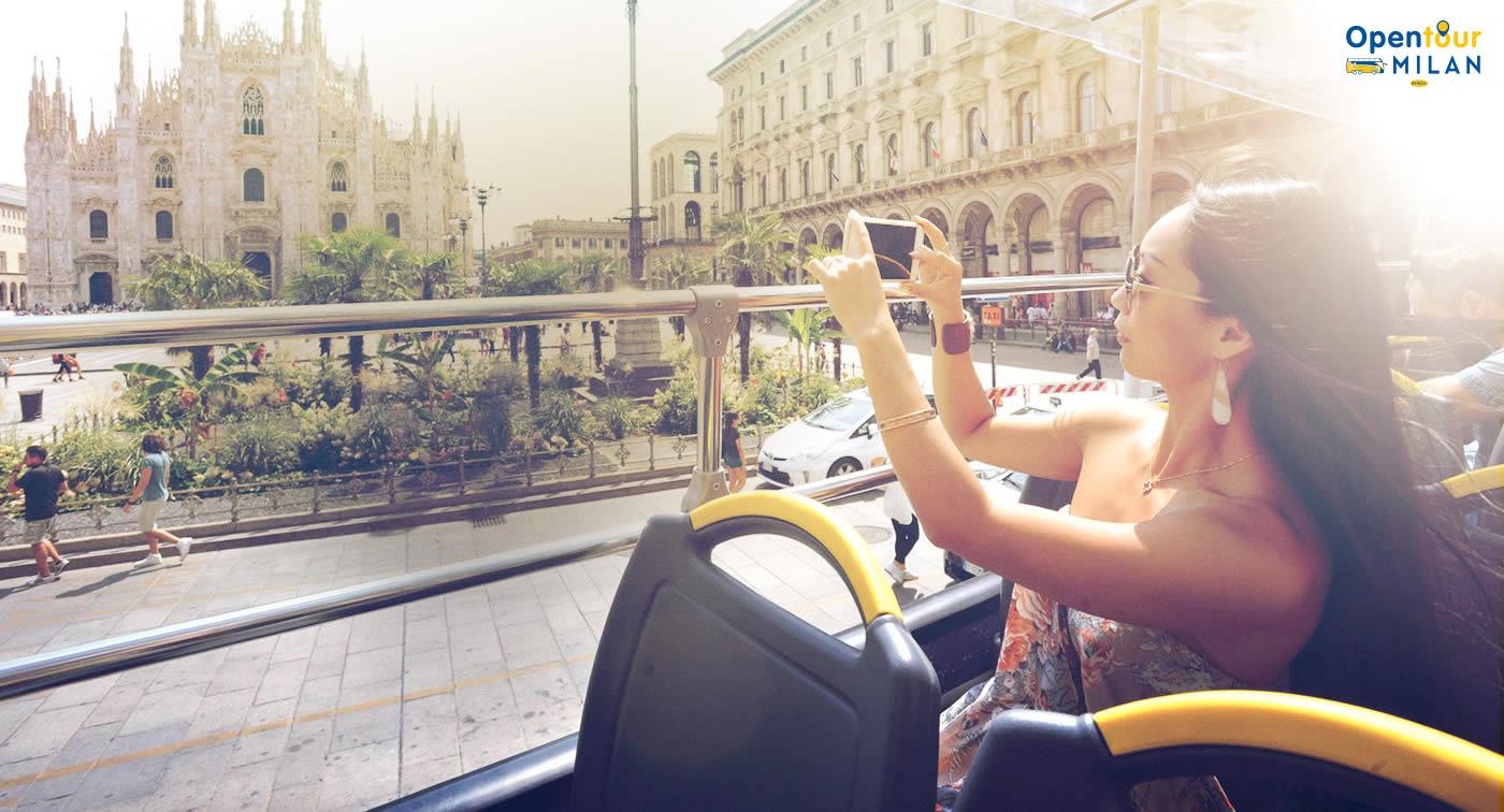 Con Open Tour Milan scopri Milano dalla comodità di un autobus a due piani