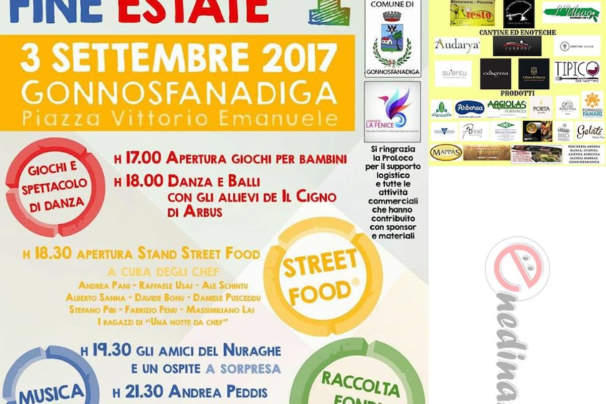 Beneficenza di fine estate per i danni dall'incendio di fine luglio in Sardegna