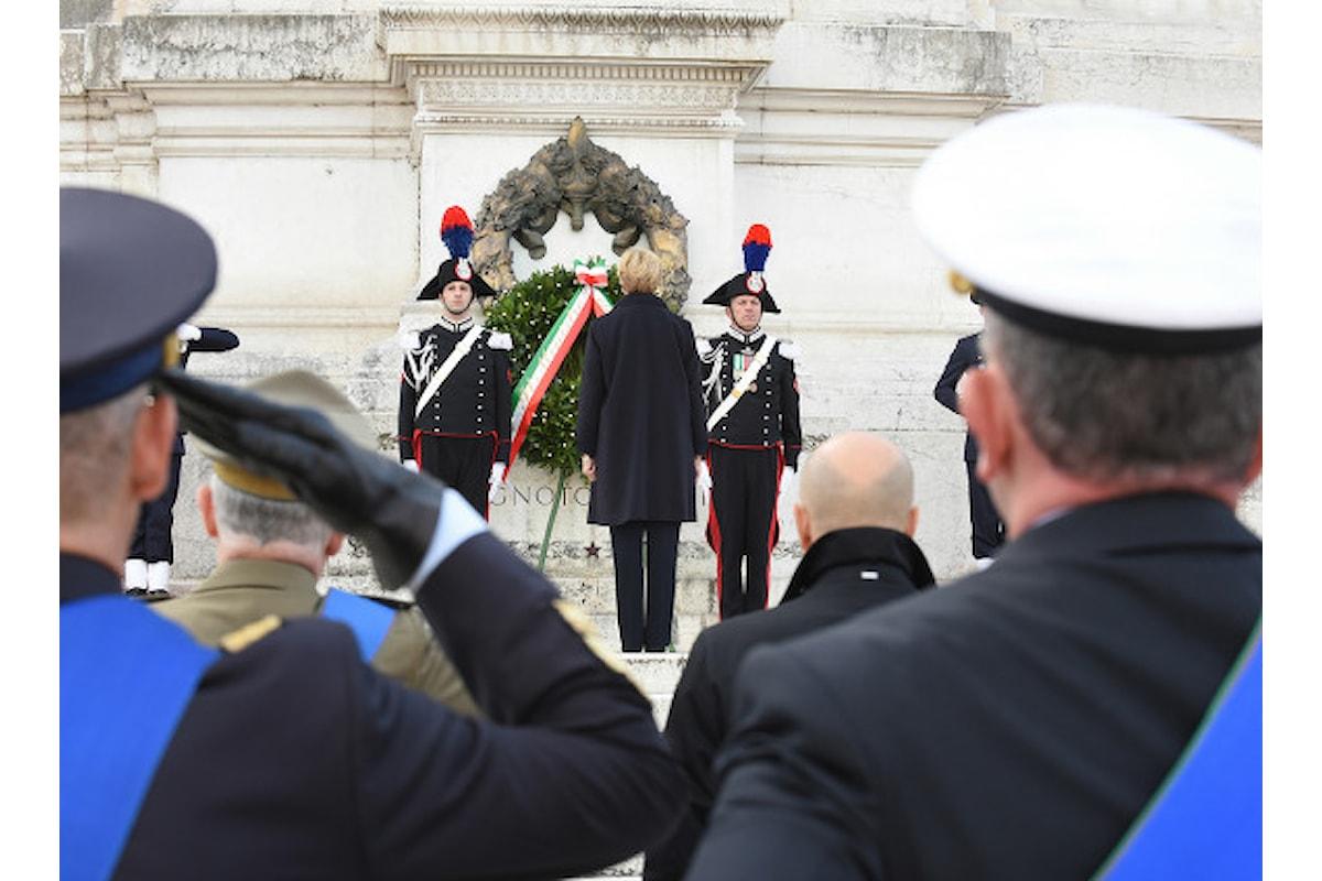 Roma, le Forze Armate commemorano la Giornata del Ricordo dei Caduti in missioni internazionali