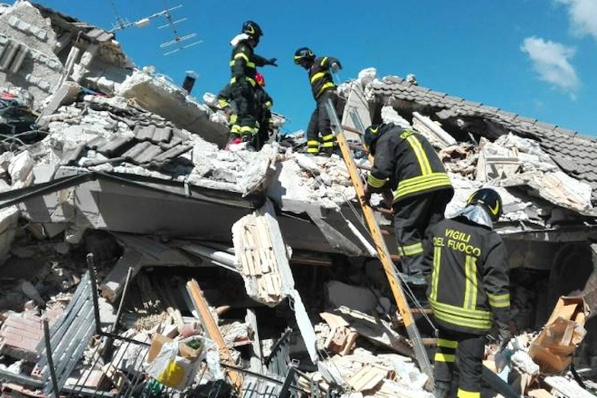 Si aggrava il bilancio del terremoto nel reatino. 250 i morti ma il numero è destinato a salire