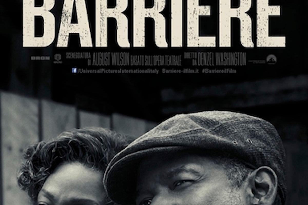 Recensione in anteprima del film BARRIERE (Fences)