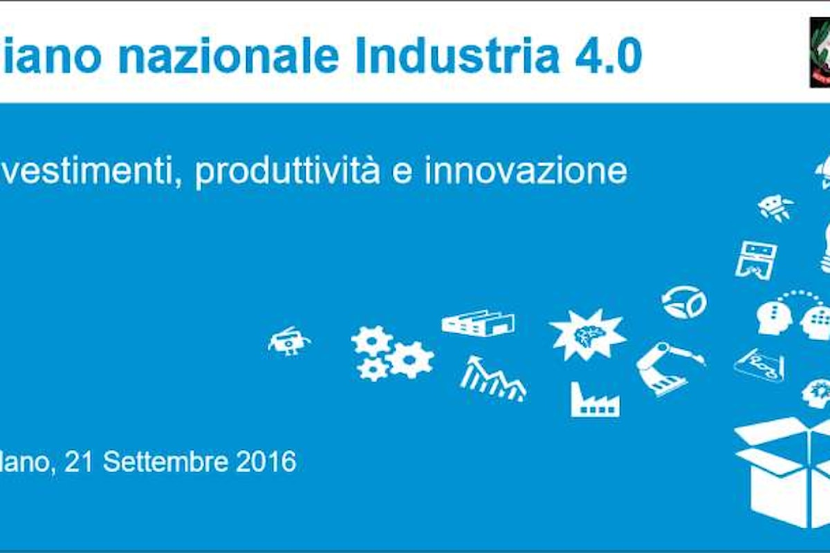 L'Italia getta le basi per l'Industria 4.0