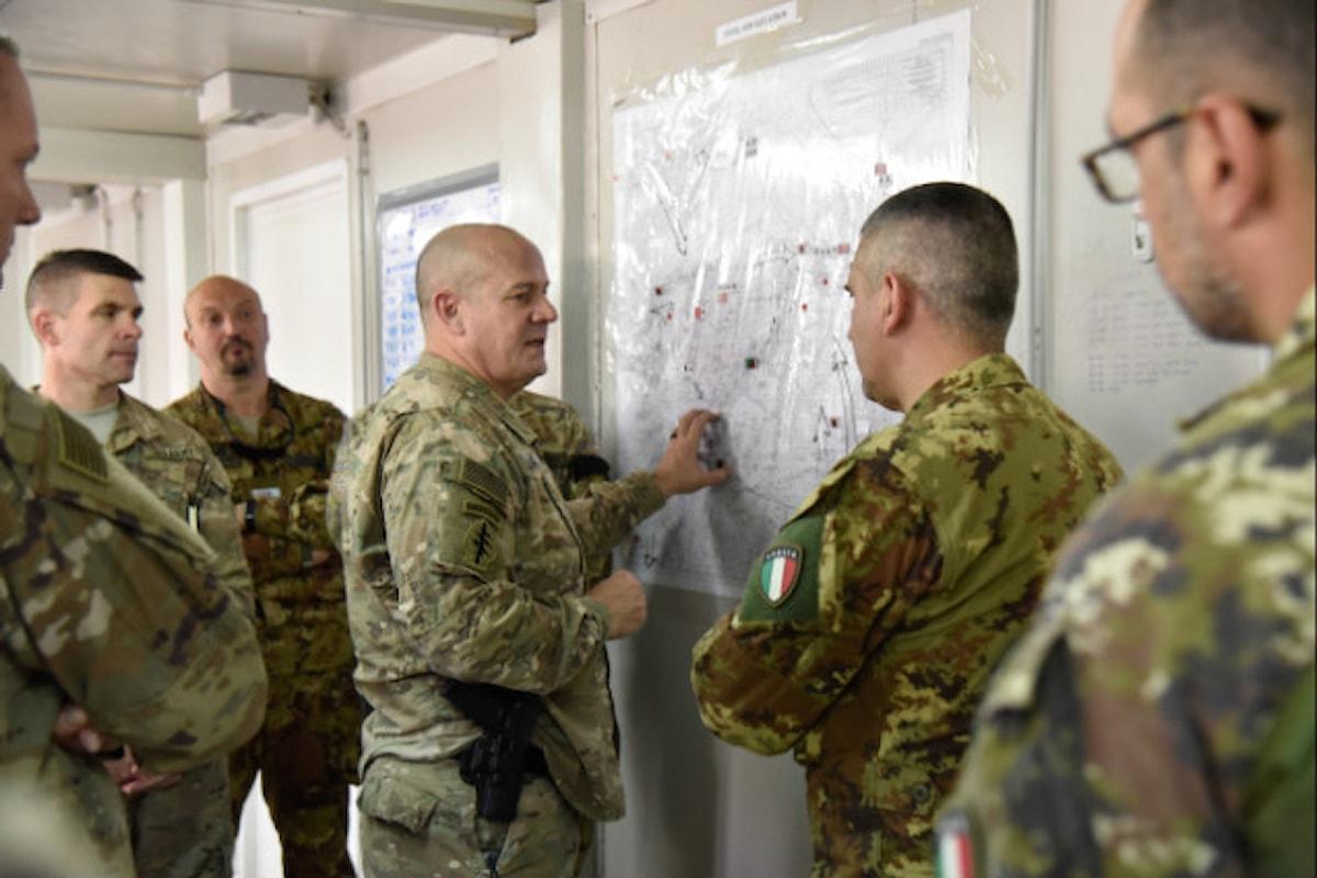 Afghanistan, militari italiani supportano forze afghane nel controllo area di Farah