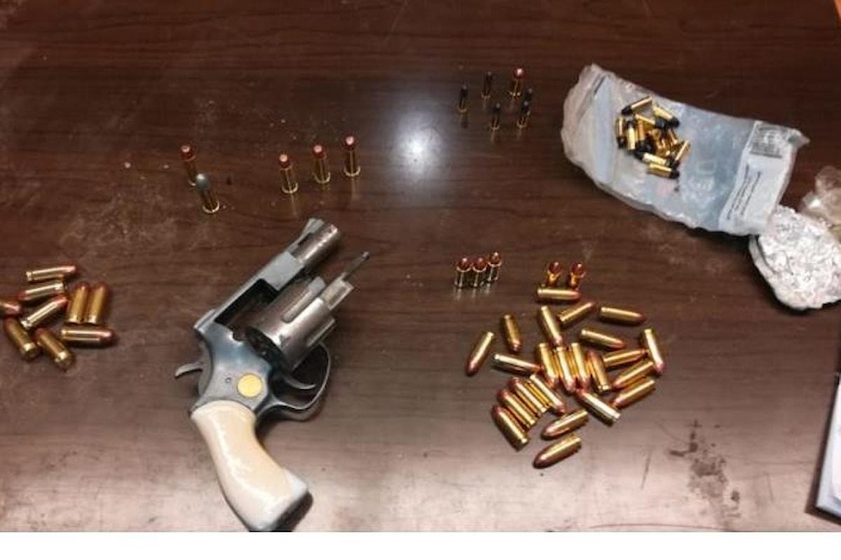 In giro con pistola e munizioni, in manette pregiudicato nel salernitano