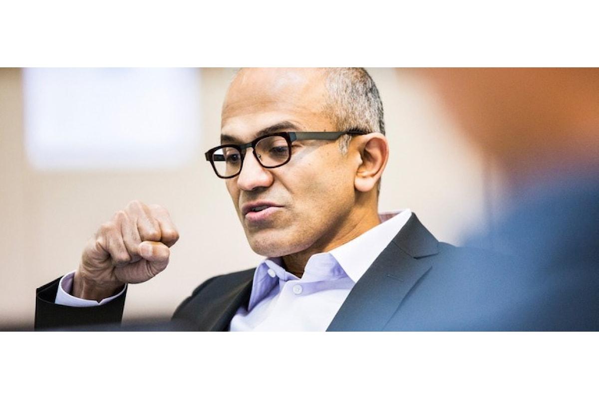 Satya Nadella parla della denuncia al governo Americano   Surface Phone Italia