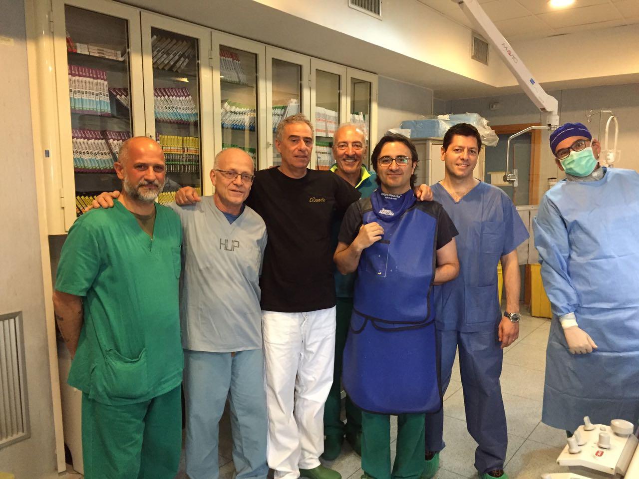 Ringraziamento pubblico al Dott. Raimondo Calvanese e al reparto U.T.I.C. dell'ospedale Loreto Mare di Napoli