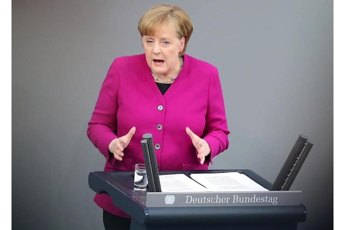 La soluzione sul problema migranti che la Merkel proporrà al prossimo Consiglio dell'Ue