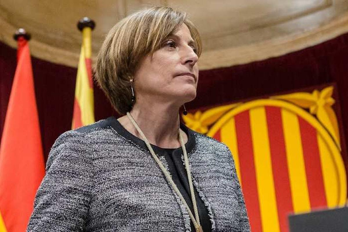 Carme Forcadell ha nuovamente convocato il Parlamento della Catalogna per martedì 10 ottobre