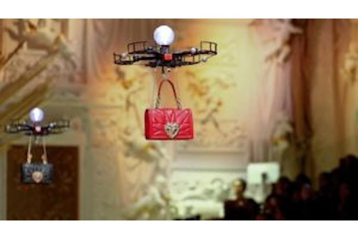 Dolce & Gabbana, sfilata con droni