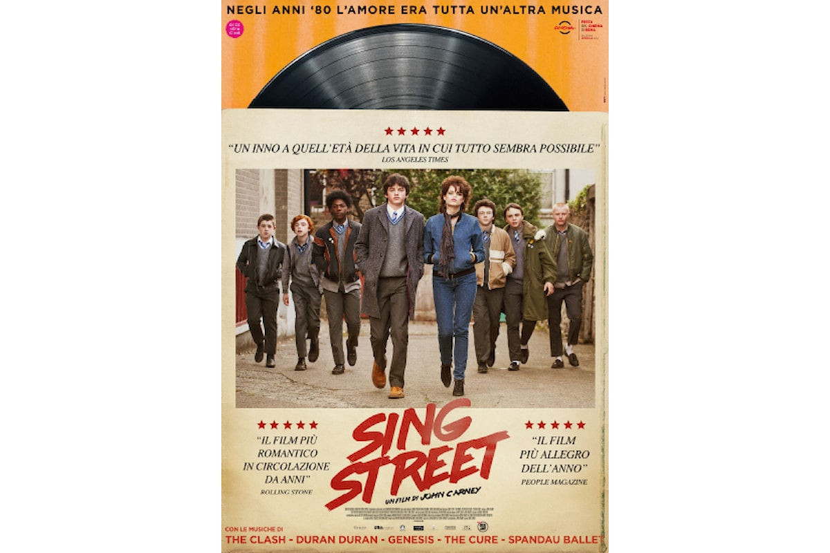 Recensione del colorato e dolce film Sing Street