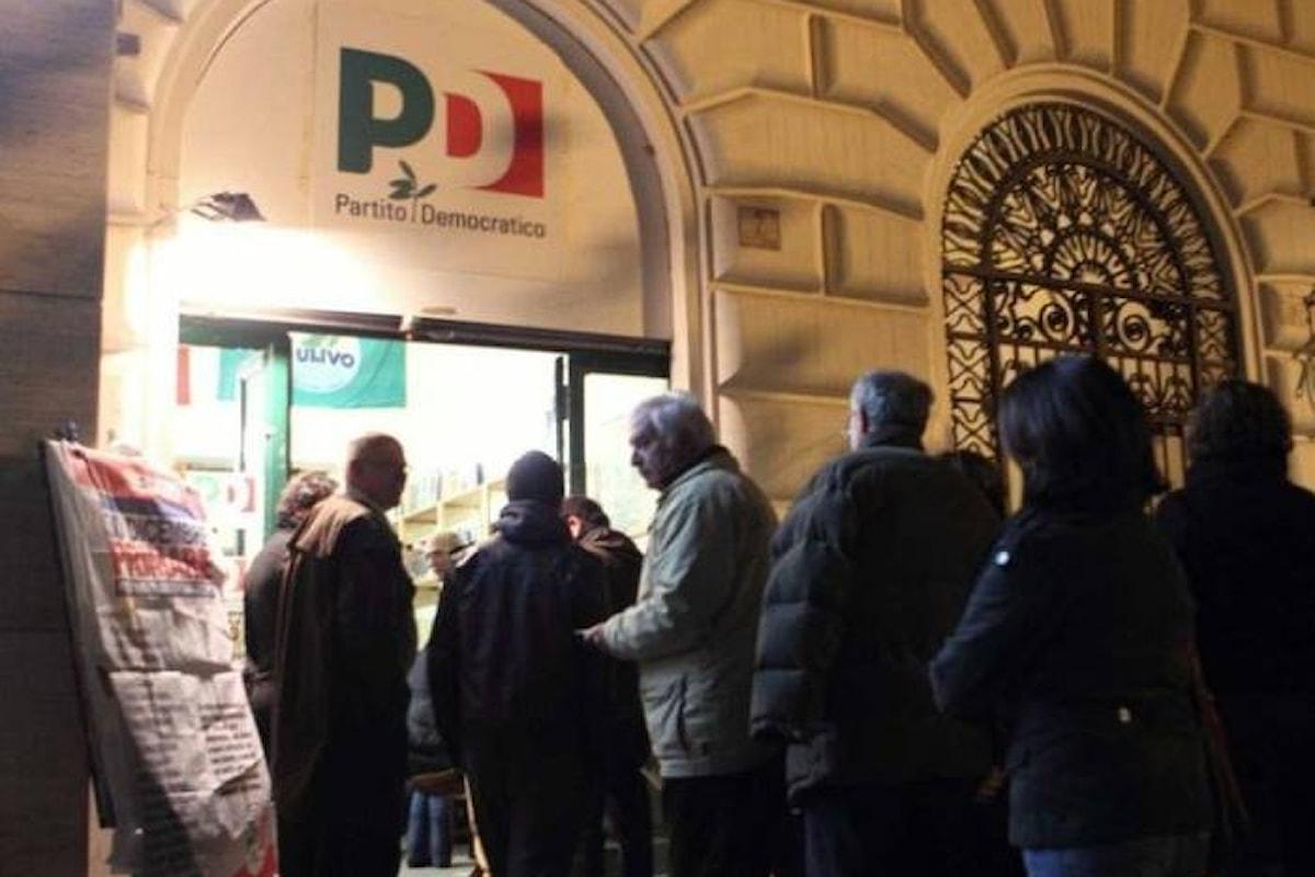 Gli iscritti al PD confermano Renzi segretario, anche se non se ne comprende il motivo