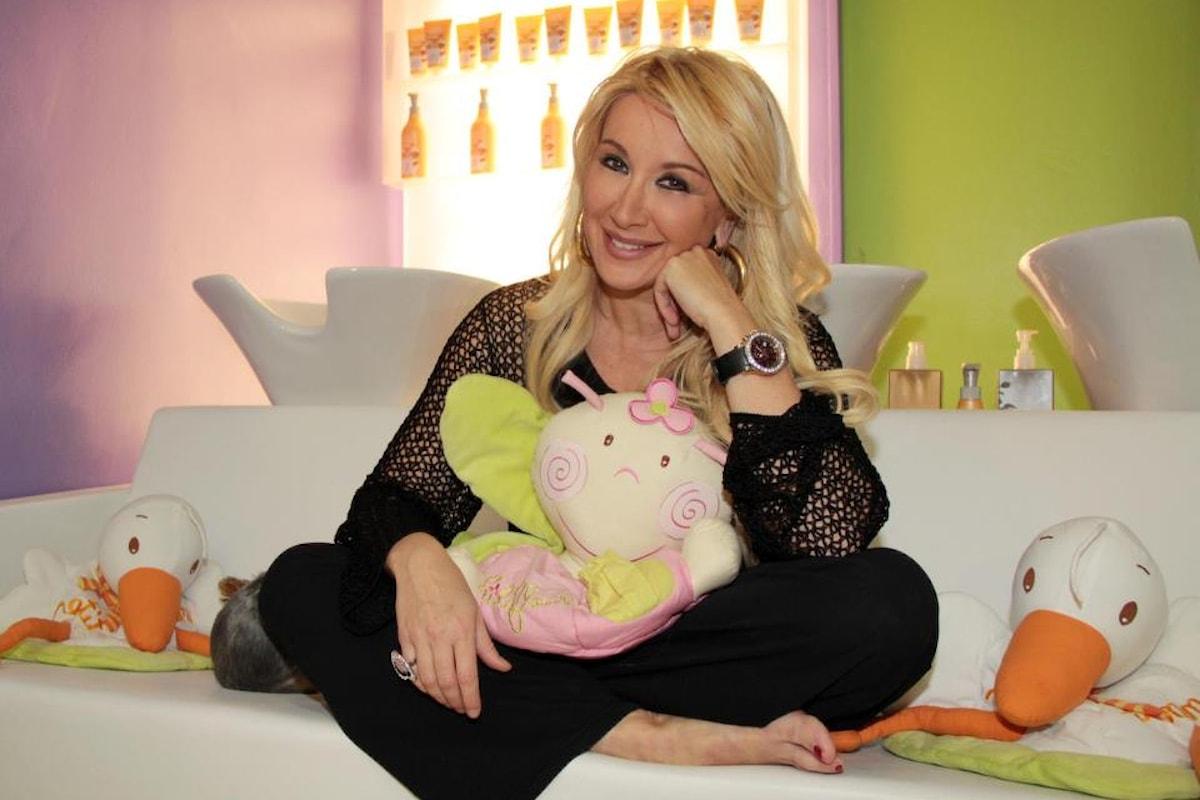 Intervista a Simona Tagli, la showgirl tv è diventata l'ideatrice di un elegante salone di bellezza a Milano LA VISPA TERESA