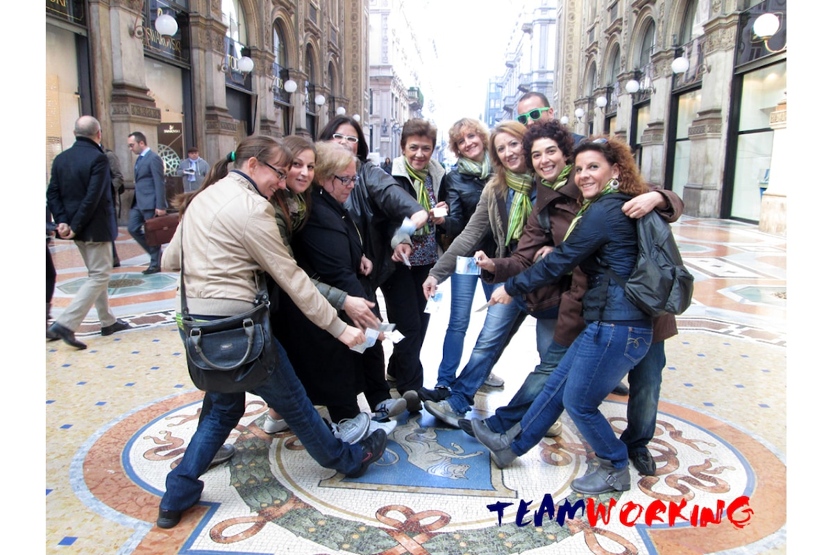 Un team building per scoprire Milano
