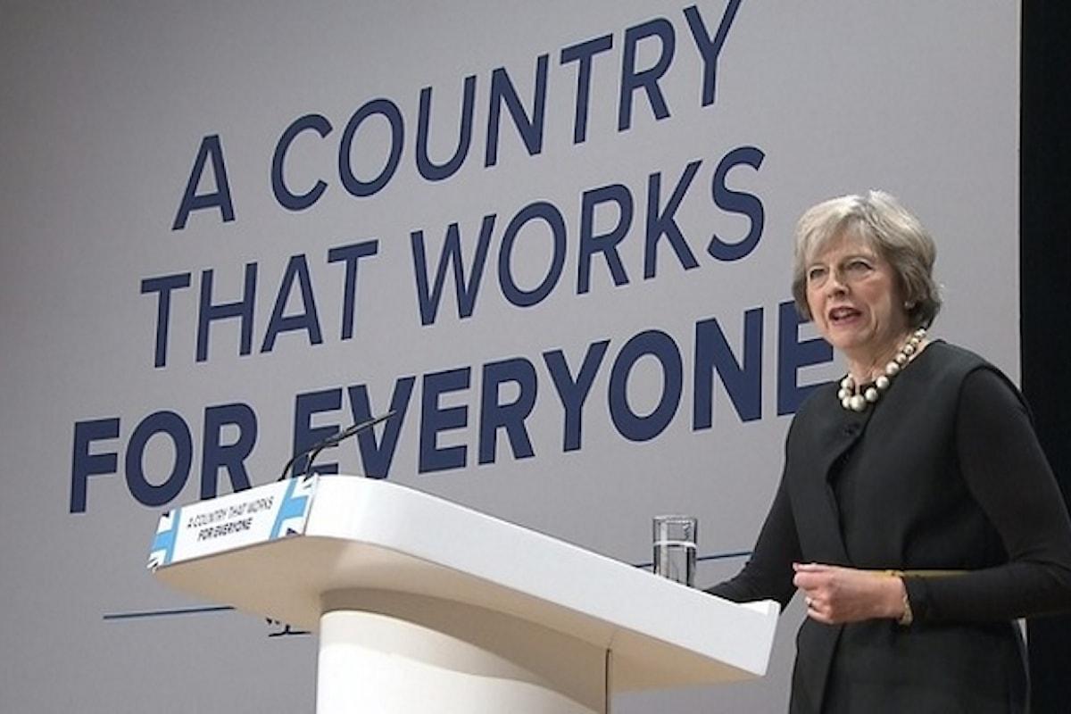 I negoziati per la Brexit inizieranno a marzo del prossimo anno. Lo ha annunciato il primo ministro Theresa May