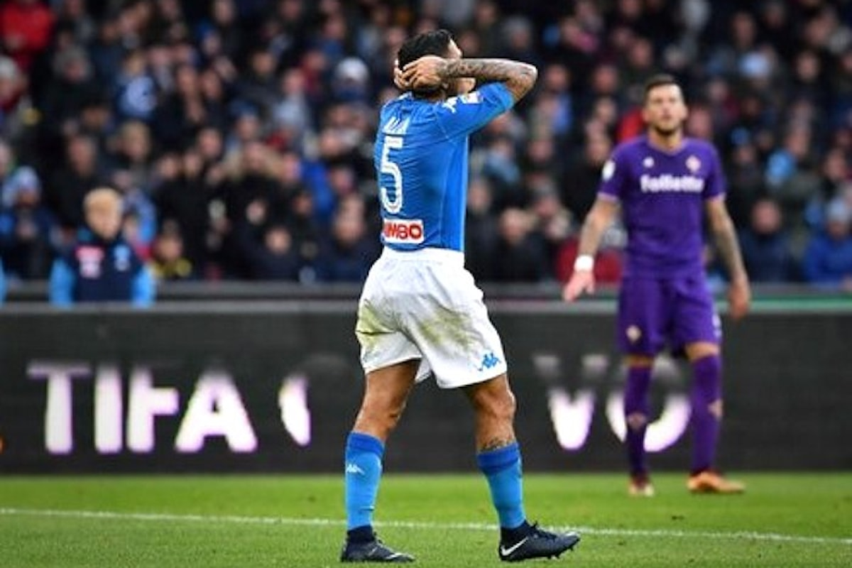 Al San Paolo il Napoli pareggia 0-0 contro la Fiorentina e resta secondo