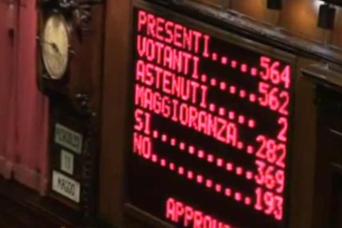 Alla Camera votata la fiducia sulle Unioni Civili