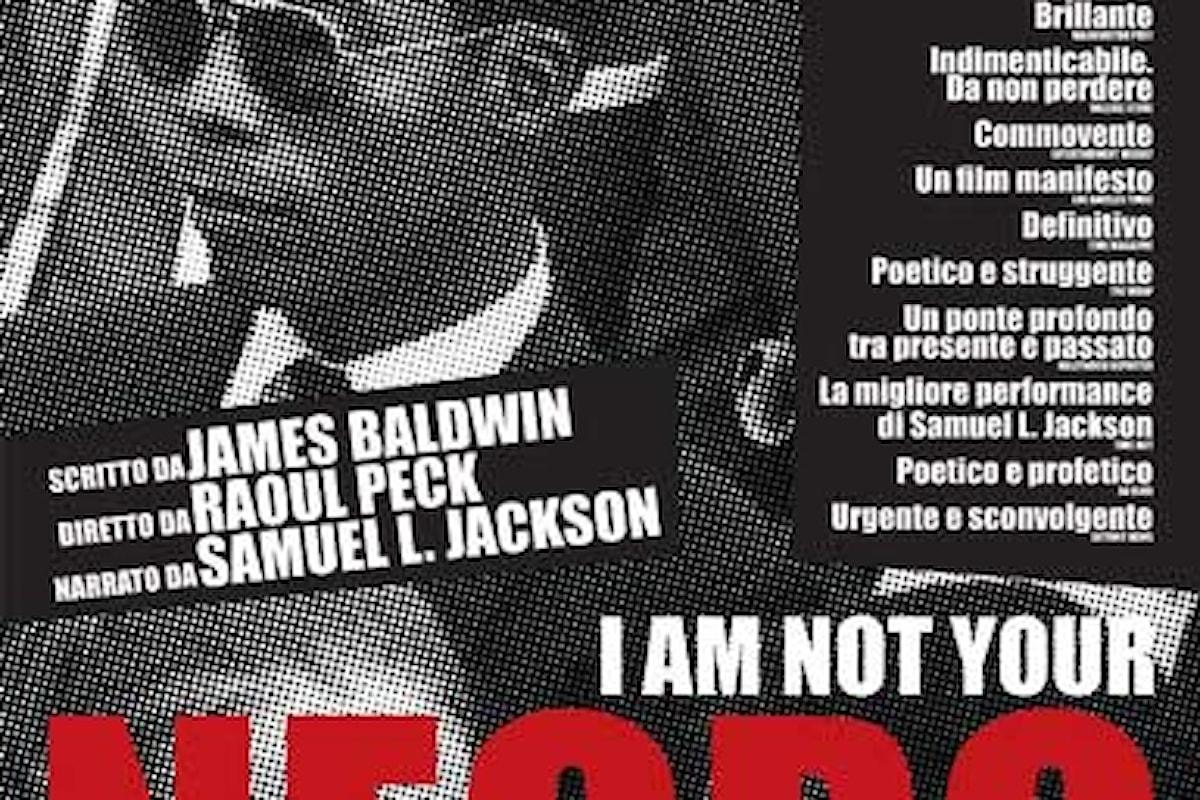 Da oggi al cinema il documentario I AM NOT YOUR NEGRO di Raoul Peck