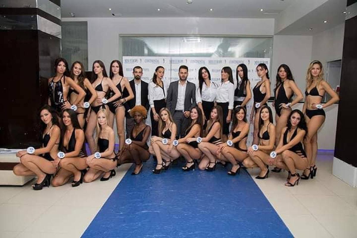 Miss Europe Continental 2018, il gran finale europeo a Napoli con un parterre di grande richiamo