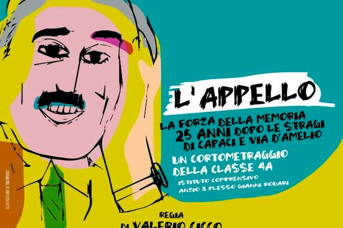 Il cortometraggio L'Appello alle Giornate degli Autori di Venezia per ricordare i 25 anni delle stragi di mafia
