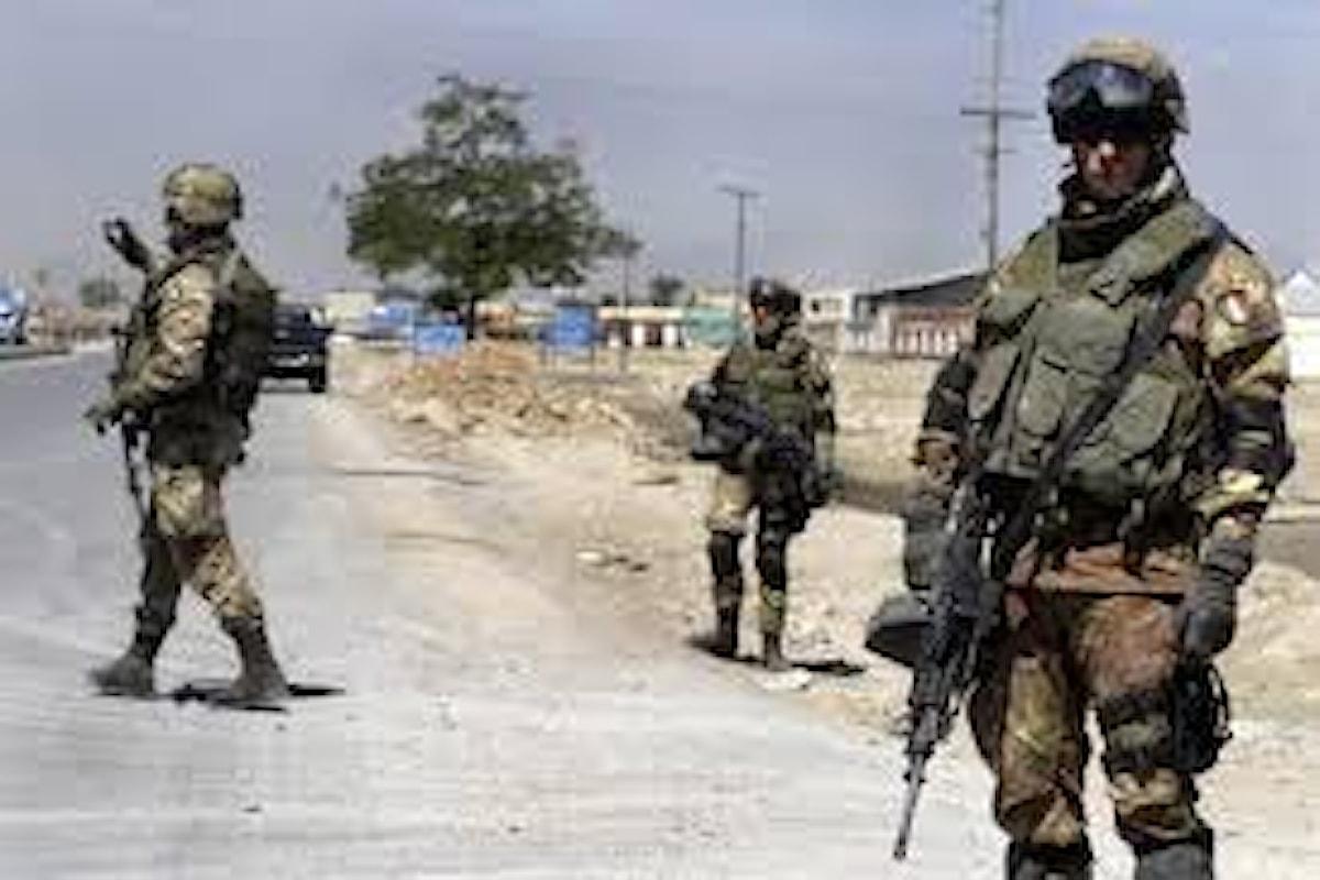 Afghanistan, il Generale Nicholson elogia impegno dei militari italiani in missione