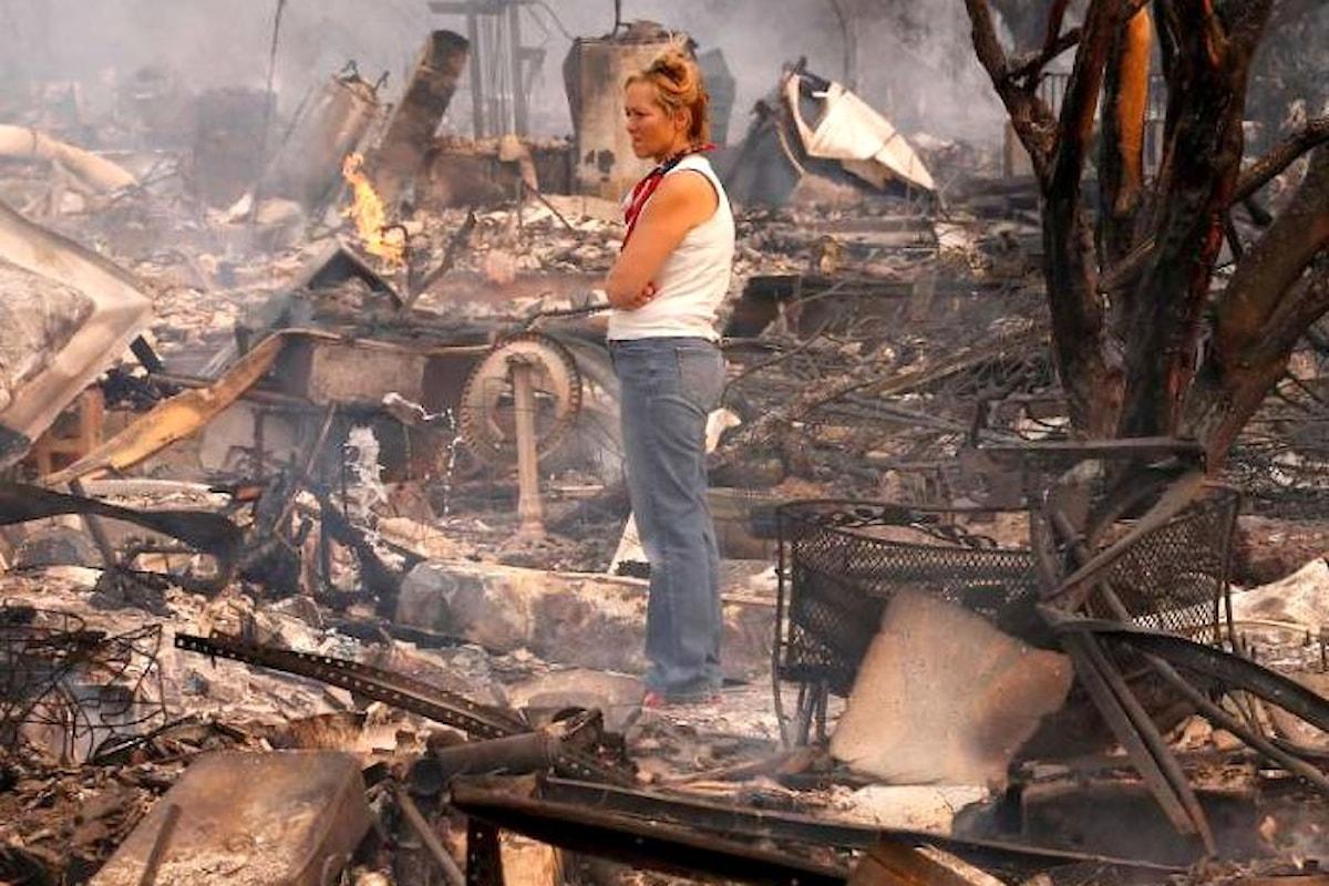 È arrivato a 40 il numero delle vittime degli incendi nelle contee della Napa Valley