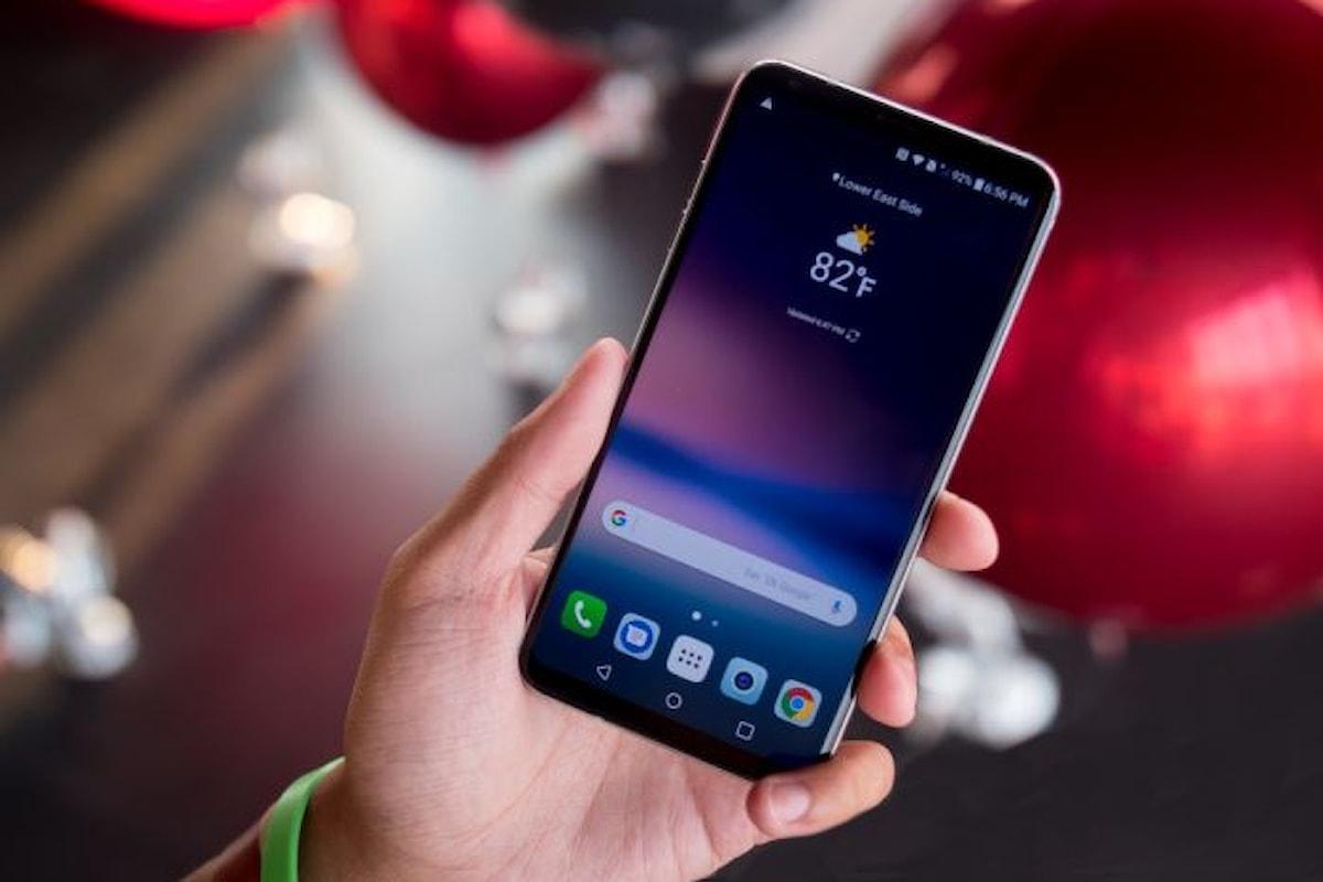 LG presenta V30, il nuovo smartphone top di gamma della casa coreana