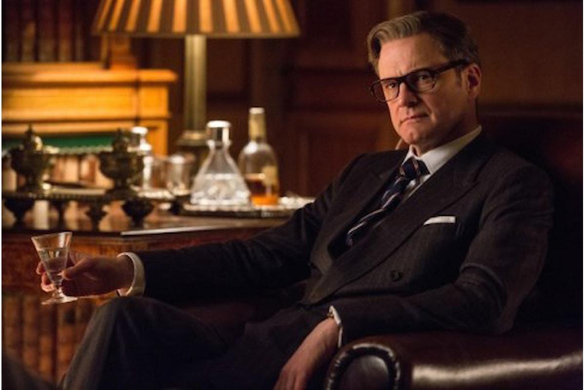 Colin Firth torna nei panni di Harry Hart nel sequel di Kingsman
