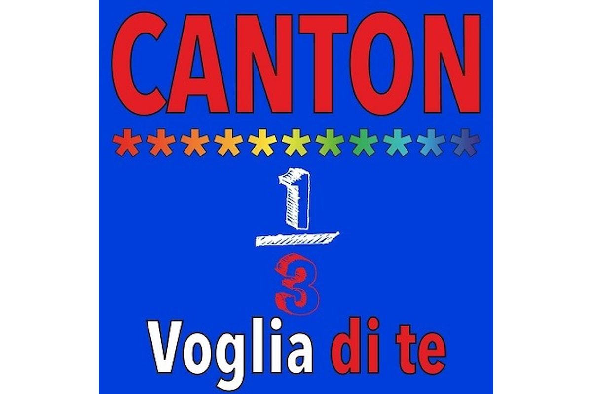 """Canton: """"VOGLIA DI TE"""" è il nuovo singolo estivo del gruppo pop-rock elettronico"""