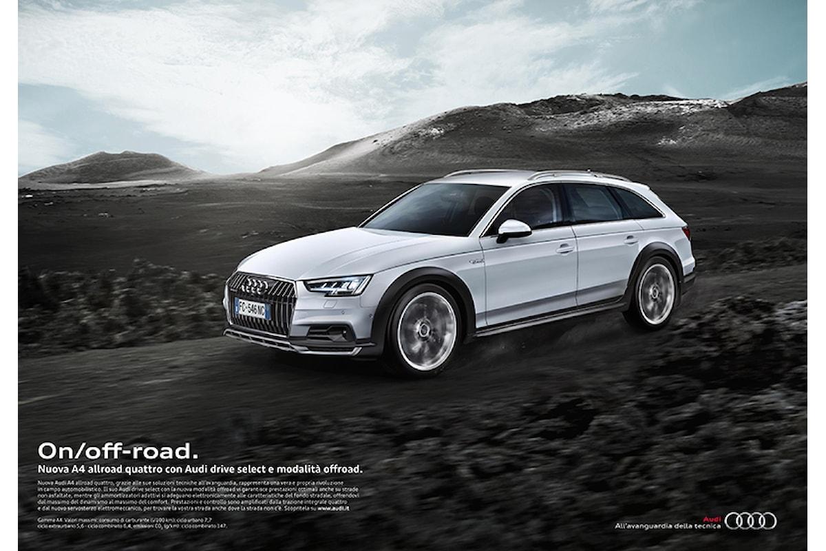 On/off-road copywriting per la nuova Audi A4 allroad quattro