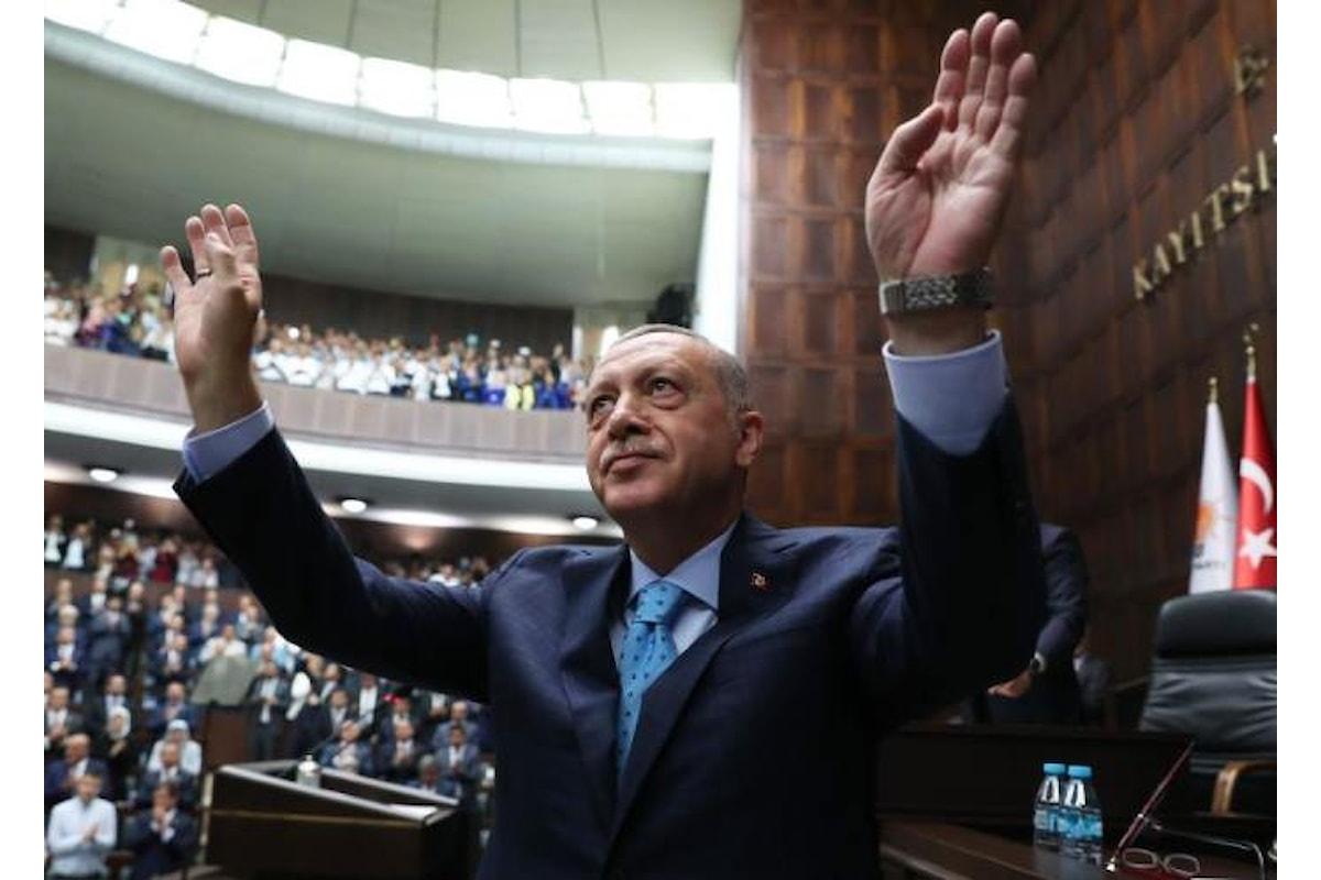 Erdogan: in chi governa Israele è riemerso lo spirito di Adolf Hitler