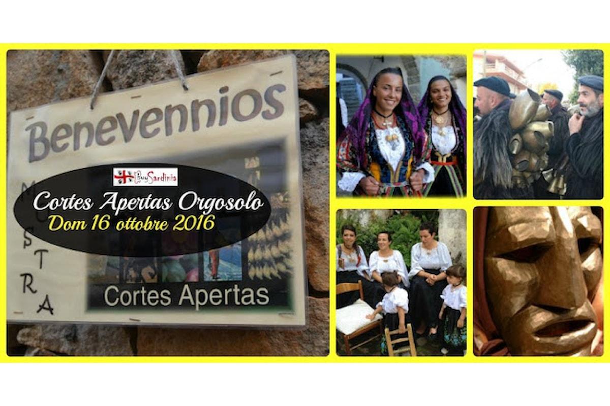 AUTUNNO IN BARBAGIA 2016 | CORTES APERTAS A ORGOSOLO | DOM 16 OTT