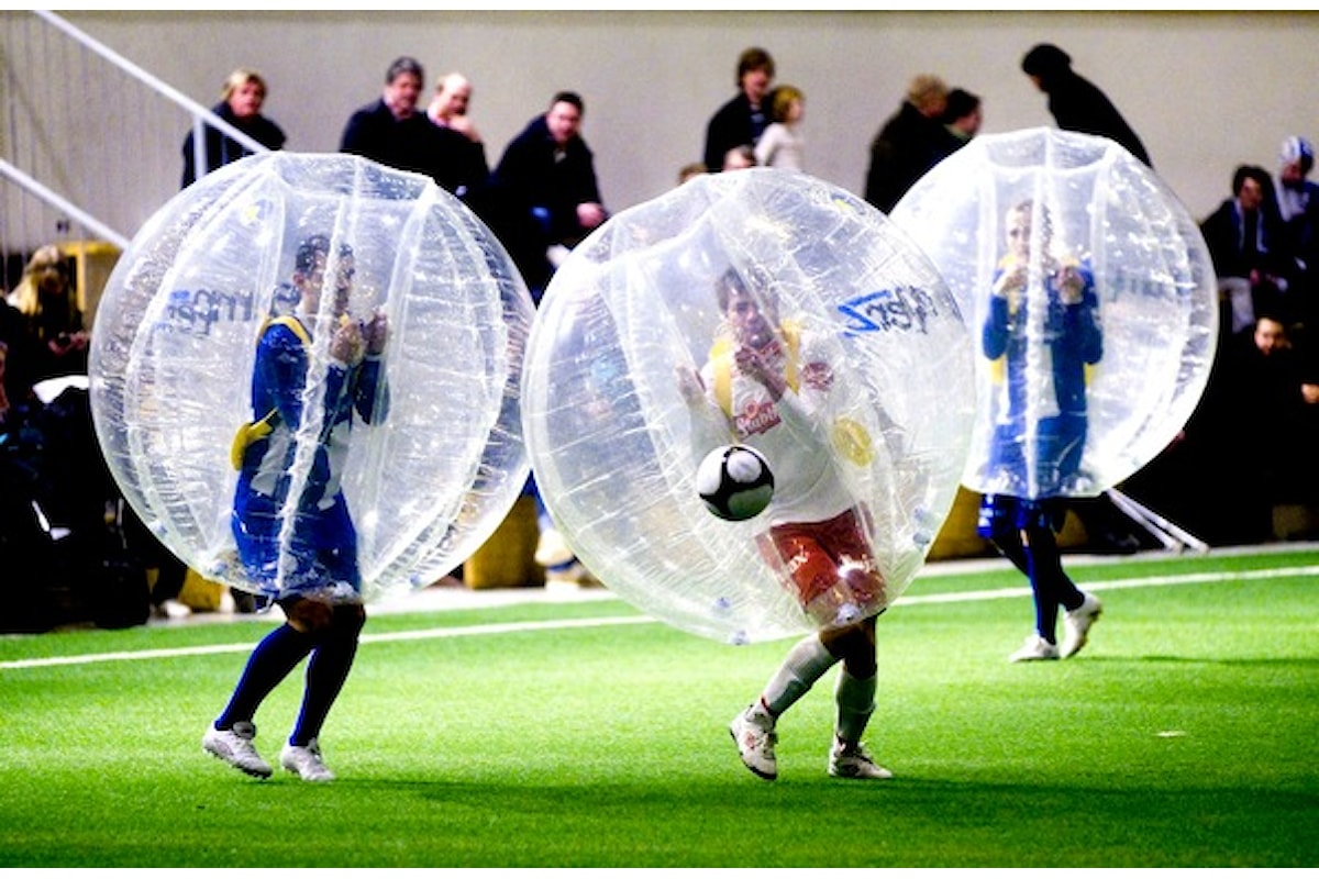 Dalla Norvegia uno sport incredibile: Bubble Football