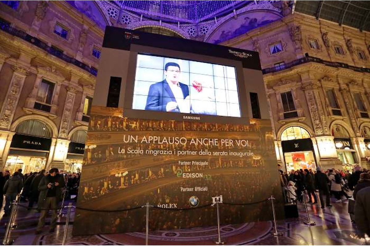 Madama Butterfly inaugurerà la stagione della Scala e sarà visibile in diretta anche dalla Galleria Vittorio Emanuele II
