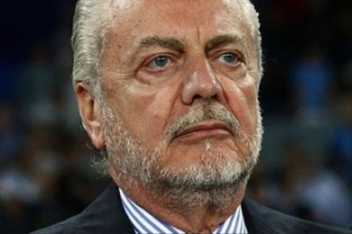 CHAMPIONS. Napoli-Benfica: De Laurentiis ordina alle TV di oscurare la protesta