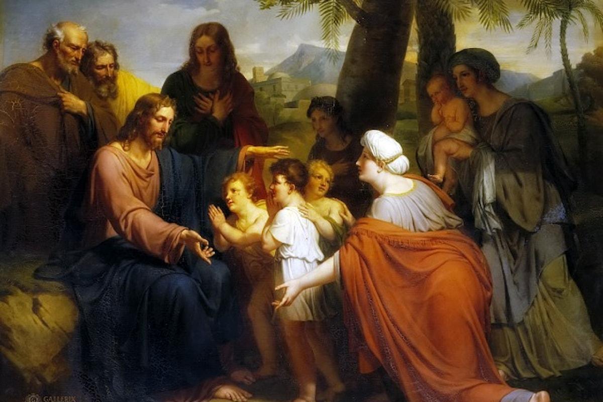 Per entrare veramente in sintonia con Gesù dobbiamo farci piccoli...