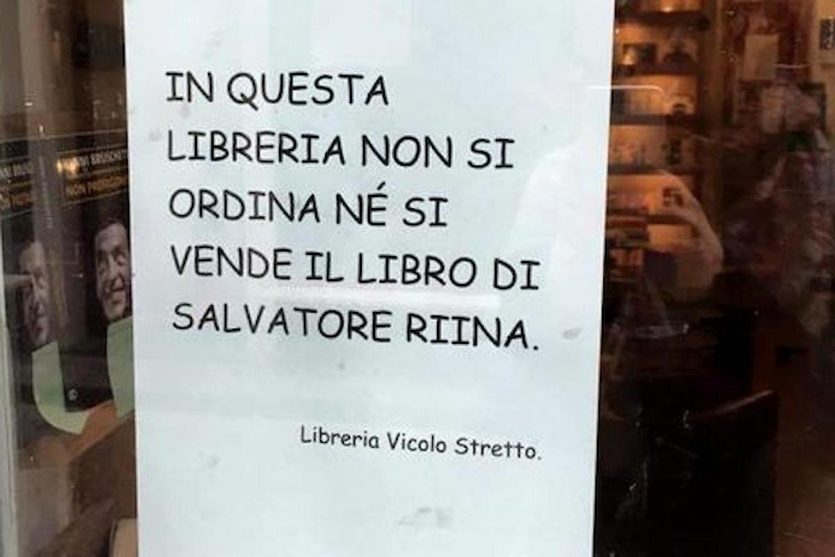 Non vendiamo libro di Riina, la decisione della libreria Vicolo Stretto di Catania