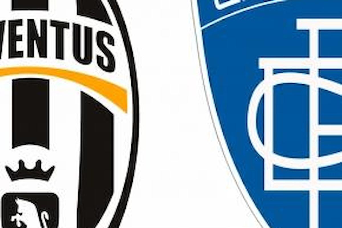Juve-Empoli: curiosità e probabili formazioni dell'anticipo serale di Serie A