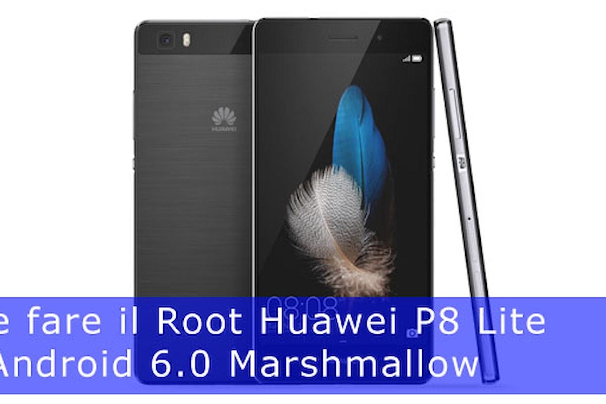Fare il root Huawei P9 Lite guida facile