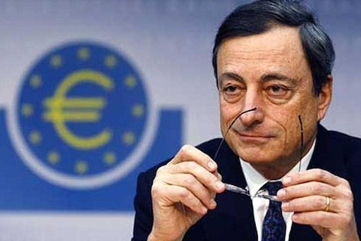 BCE, Draghi continua sulla strada della prudenza