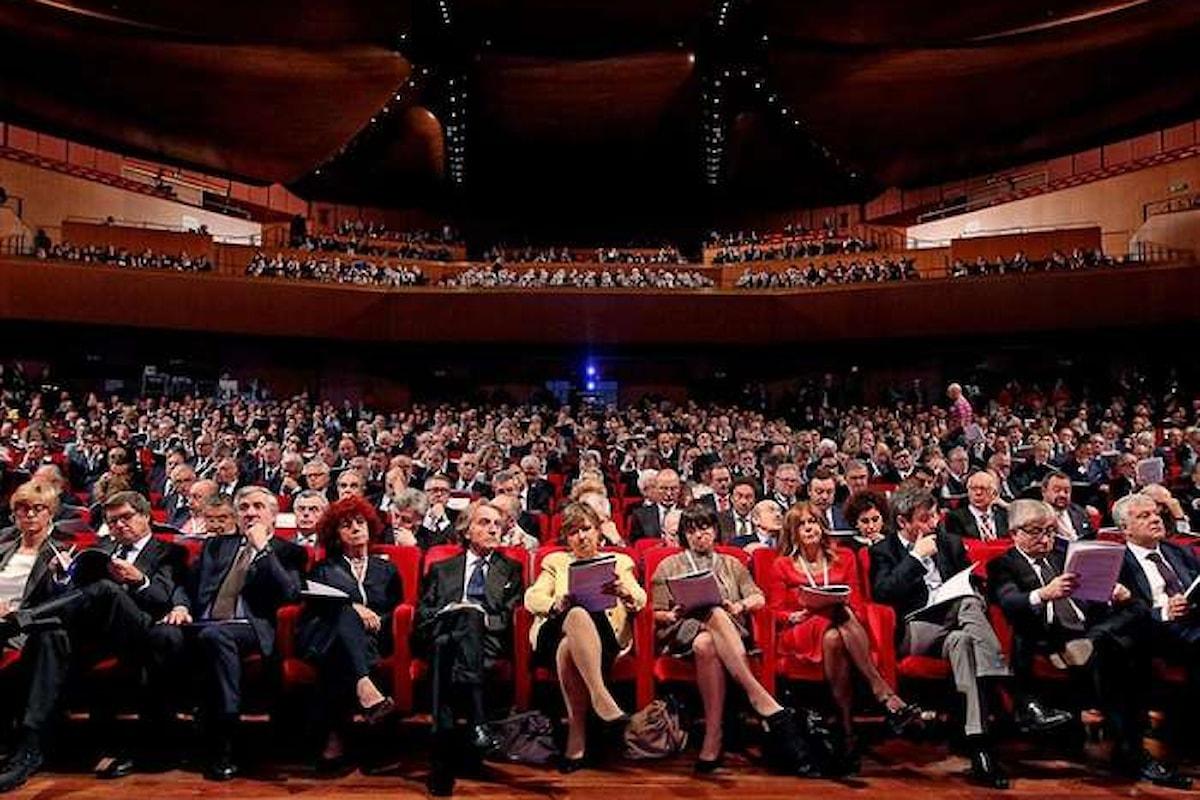 All'assemblea annuale di Confindustria Calenda si candida come prossimo premier
